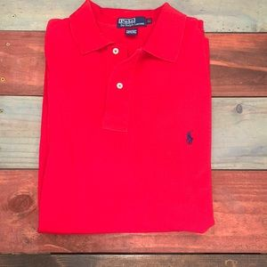 Polo by Ralph Lauren Red Large Tall